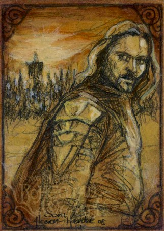 """Aragorn states, 'For Frodo'"", by the Bohemian Weasel"