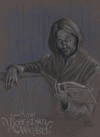 Aragorn at Rivendell by The Bohemian Weasel