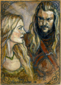 Éomer and Éowyn, brother and sister