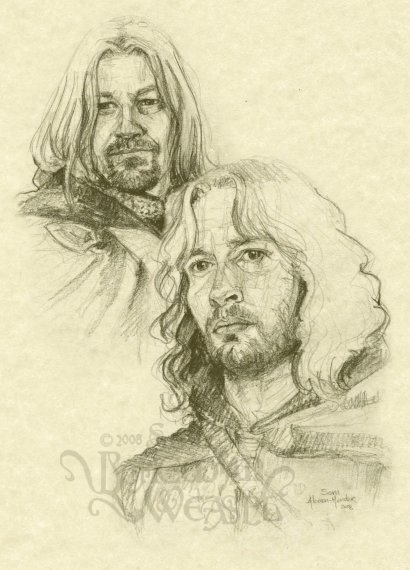 """Boromir and Faramir"" by The Bohemian Weasel"