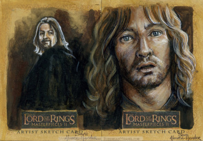 Denethor - My son! Boromir and Faramir