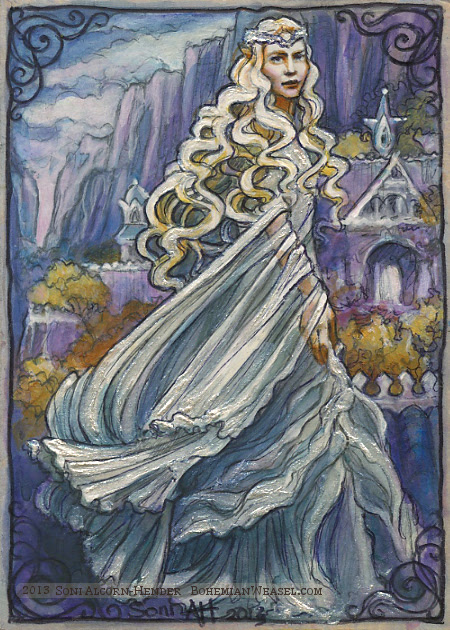 Vision of Galadriel in Rivendell