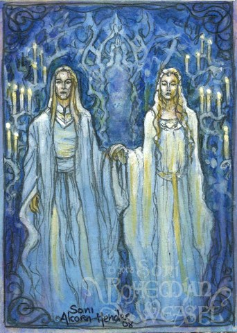"""Celeborn and Galadriel"" by The Bohemian Weasel"