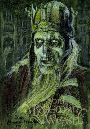 King of the Dead - None but the King of Gondor may command me!