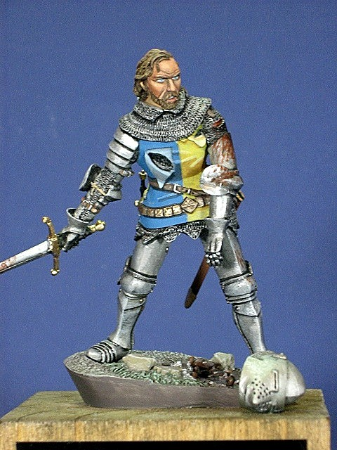 Wounded Knight Agincourt