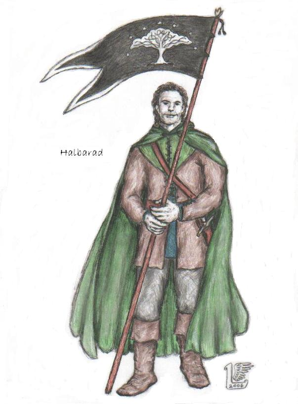 """Halbarad"" by Elwing-(V)"