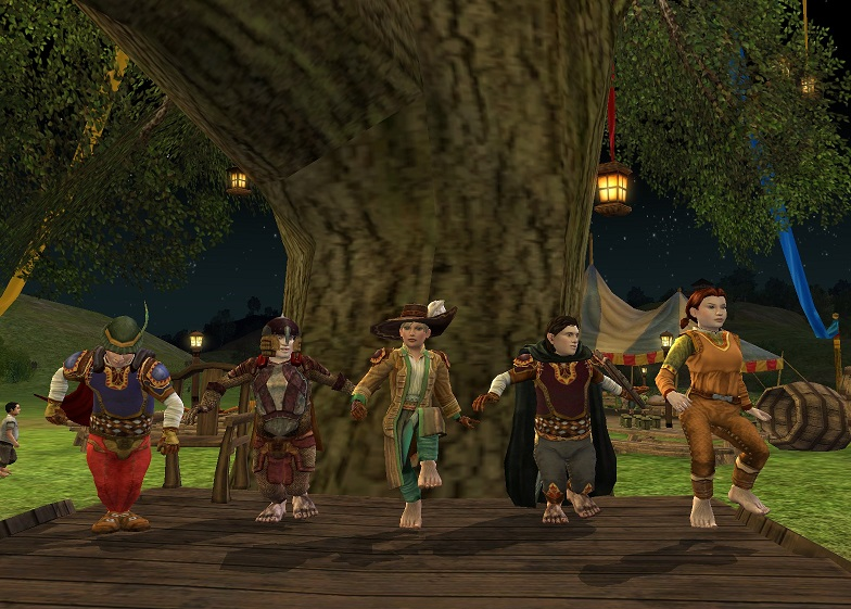 Contest winner: LotRO Party Tree by Elwing